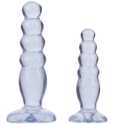 Crystal Jellies Anal Delight Trainer Kit - Clear