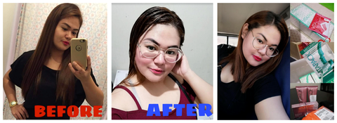 Before After Glutathione Ira