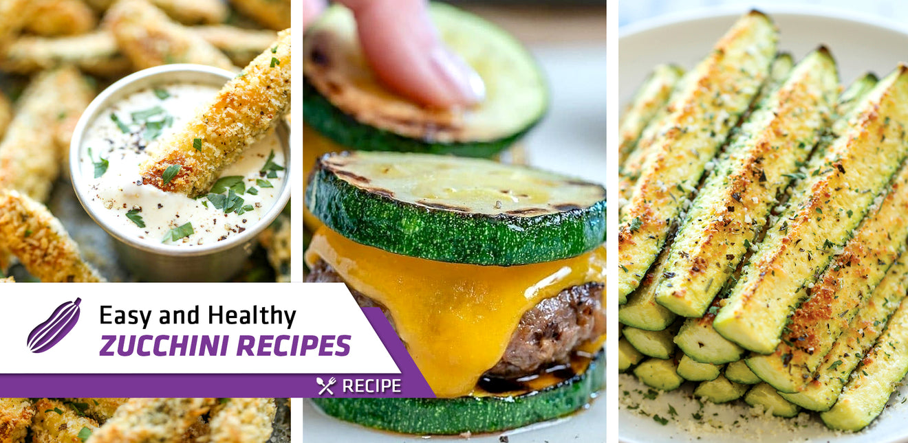 Easy and Healthy Zucchini Recipes