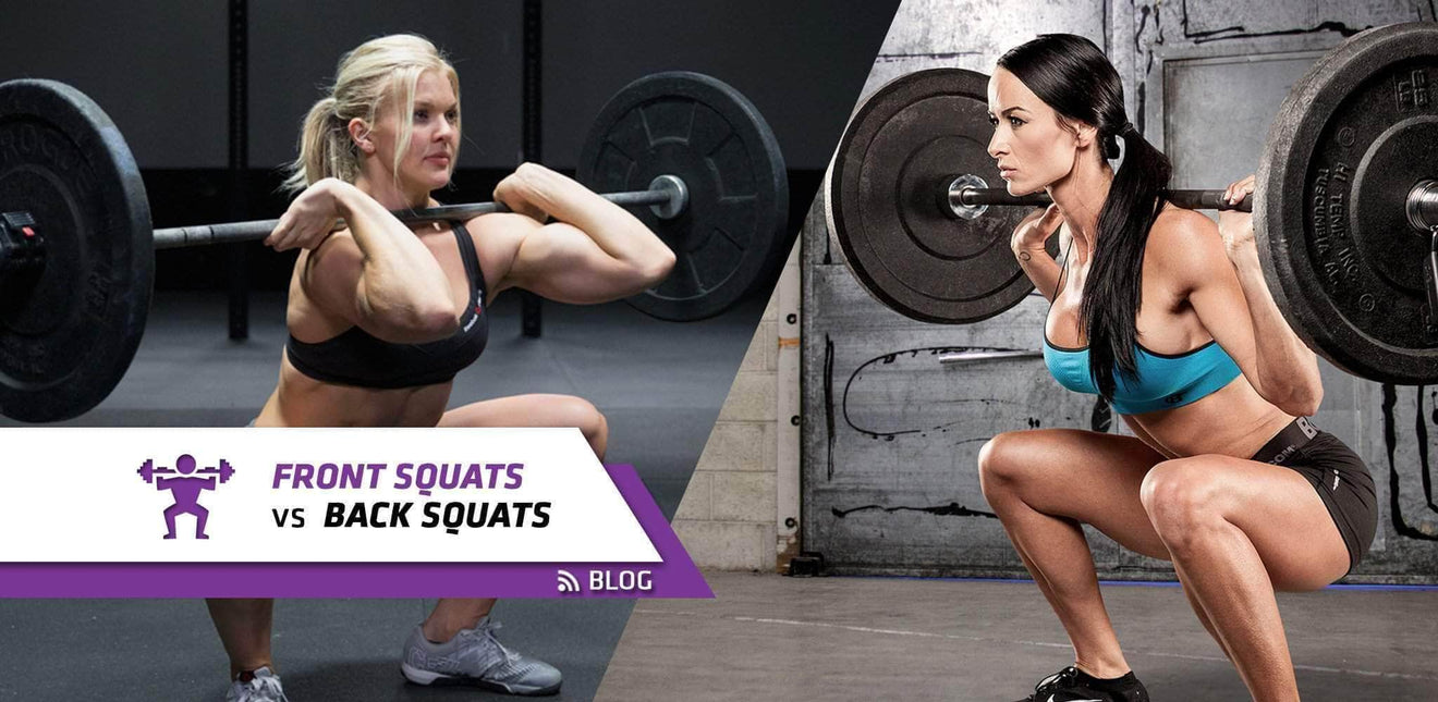 Front Squats vs. Back Squats: Things You Need To Know For Building Muscle