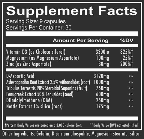Boomstick Nutrition Information