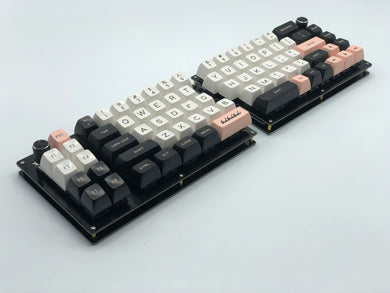 Quefrency Rev. 2 - 60%/65% Split Staggered Keyboard
