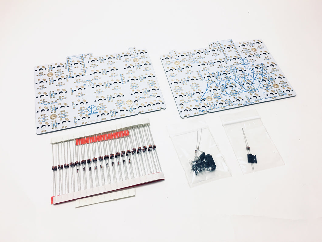 Viterbi Keyboard - 5x7 70% Split Ortholinear