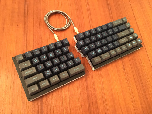 Quefrency Rev. 1 - 60%/65% Split Staggered Keyboard