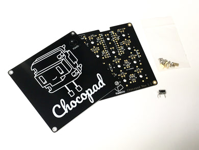 Chocopad - 16-key Macropad for Kailh Choc Low-Profile Switches