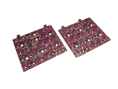 Nyquist/Levinson Keyboard PCBs - 60%/40% Split Ortholinear