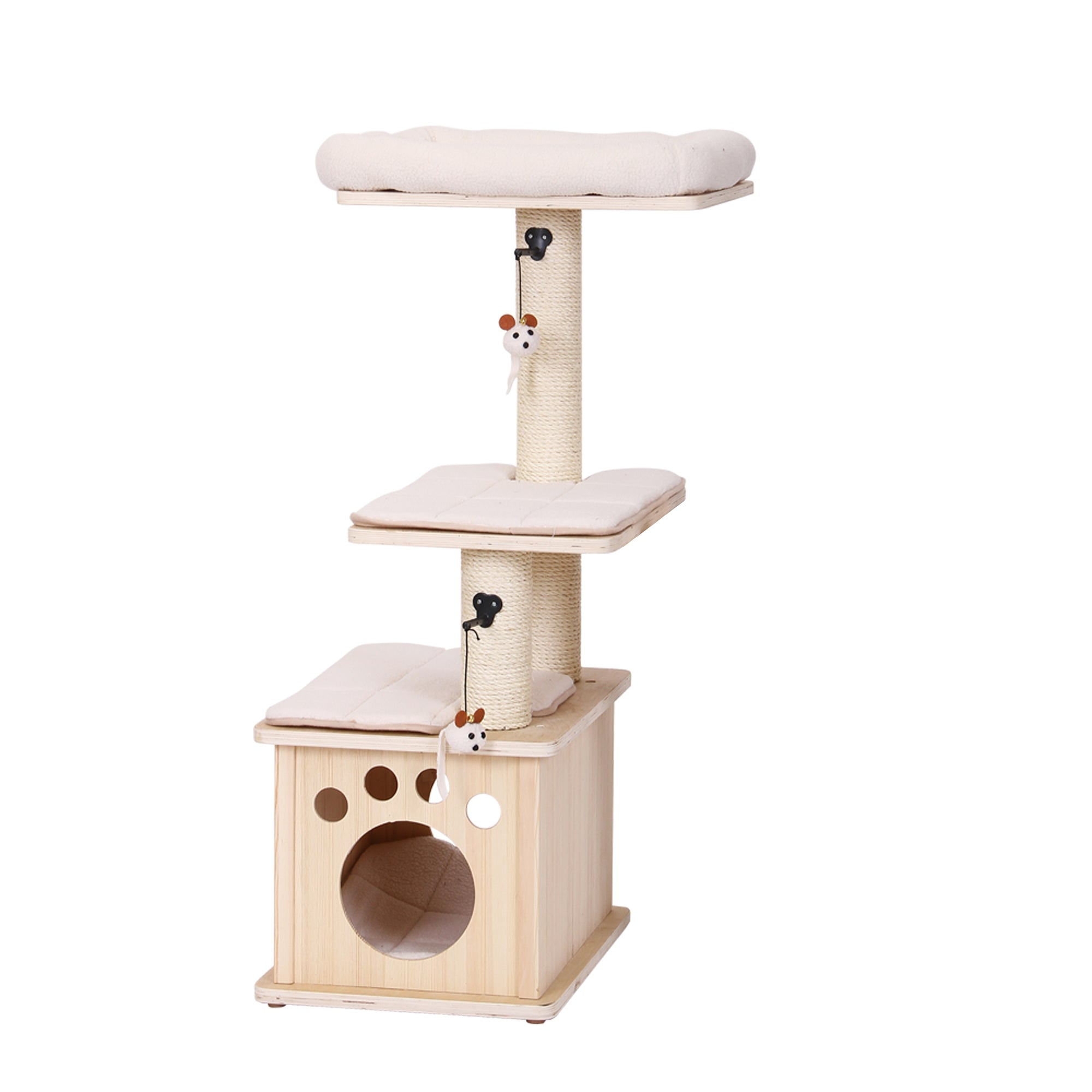 activity katz with centers mini natural perch paper rope mau trees hammock posts recycled scratching cat tree collections