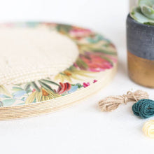 Modern and Unique Floral Cat Scratching Pad - Naturally Made and Easy to Hang!