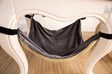 velcro cat hammock modern furniture gray under chair