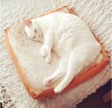 Funny Unique Piece of Bread/Toast Cat Bed