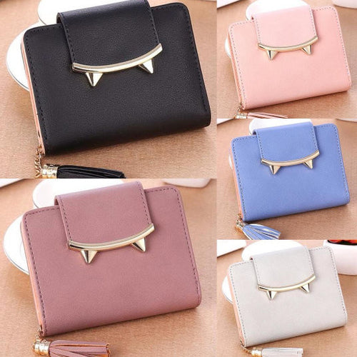 Women's Modern Cat Wallet - 5 Different Colors