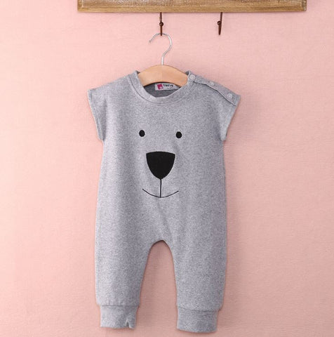 Bear Sleeveless Jumpsuit