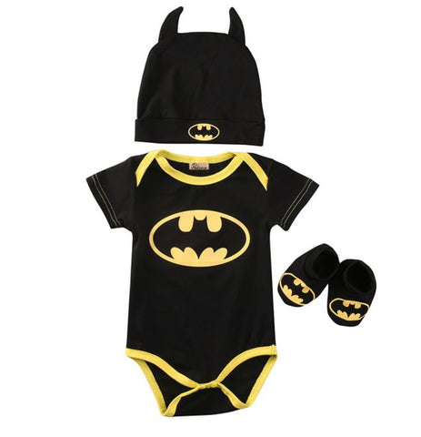 Little Batman 3 Piece Set