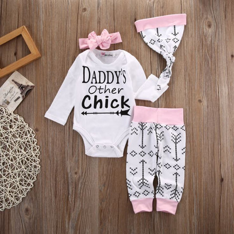 Daddy's Other Chick 4 Piece Set