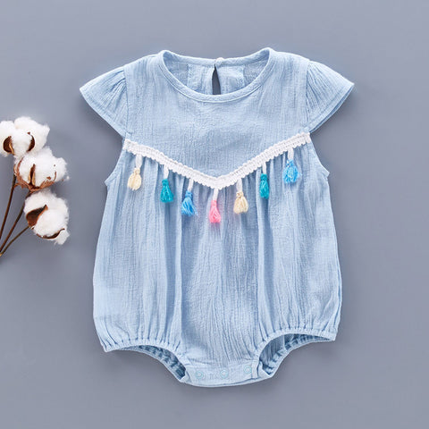 Bubble Tassel Romper