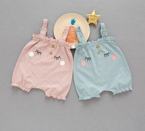 Sleepy Face Playsuits