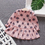Polka Ruffle Dress