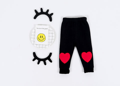 Heart Patch Pant