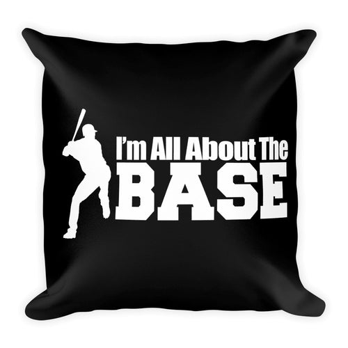 All about the Base – Square Pillow