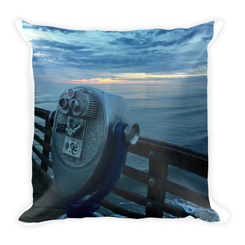 Blue Sky2 - Square Pillow