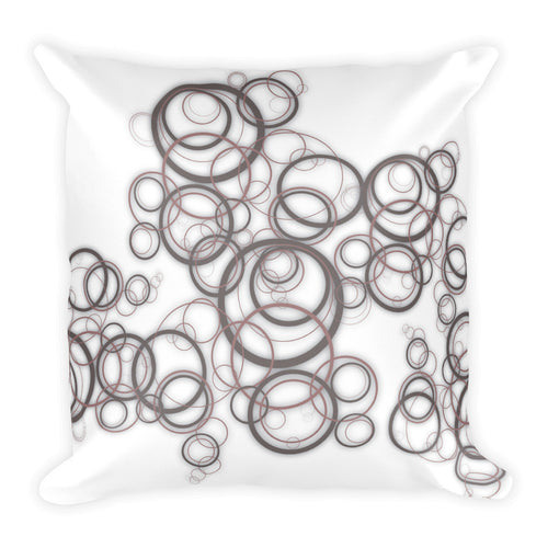 Circles 2 - Square Pillow