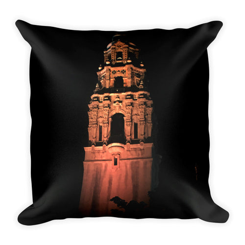 Dark Night - Square Pillow