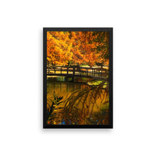 Bridge - Framed photo paper poster