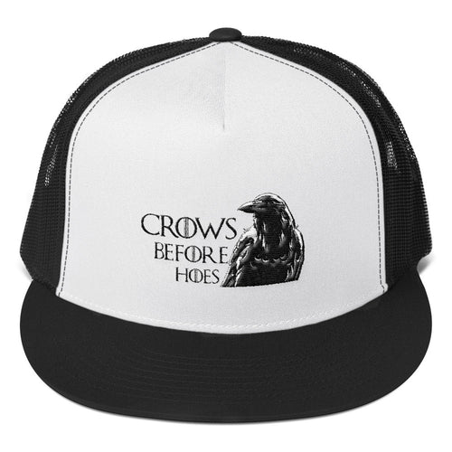 Crows Before Hoes - Trucker Cap