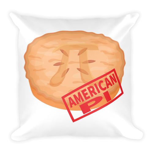 American Pi - Square Pillow