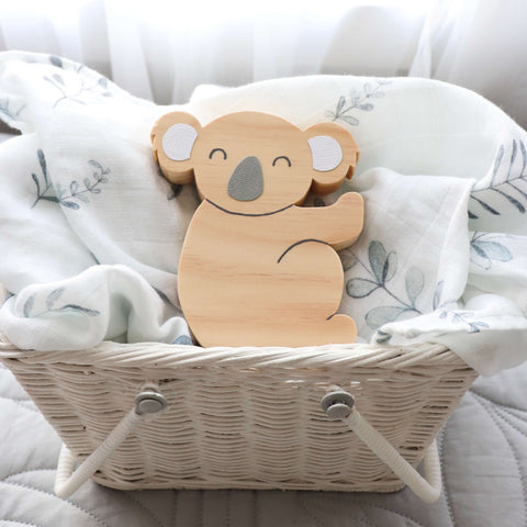 Scandi Koala Shelf Decor