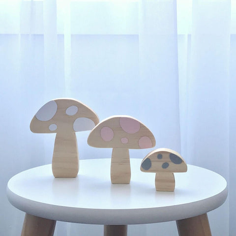 Scandi Mushrooms Nursery Decor