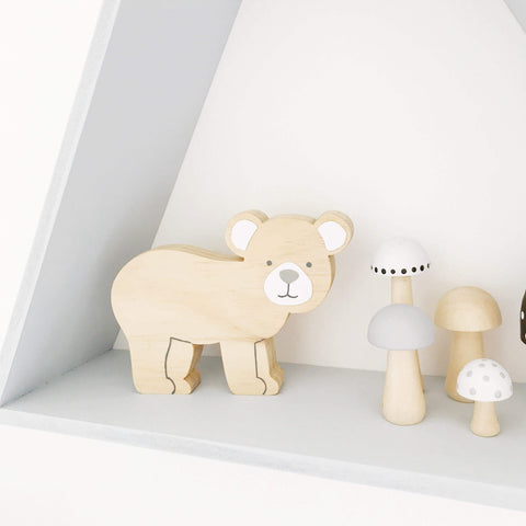 Woodland Bear Decor