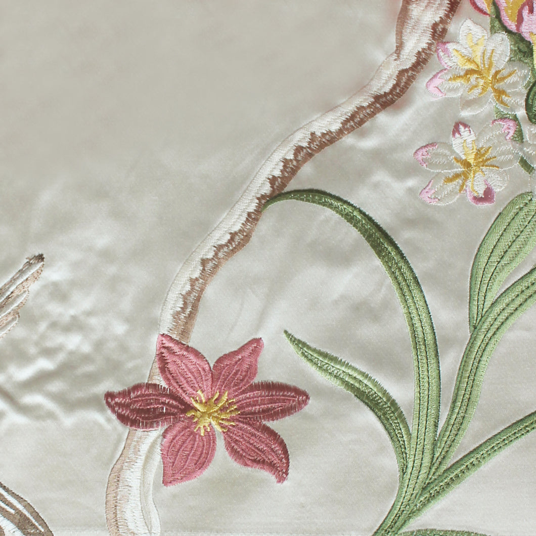 Embroidered Fabric - 296A9