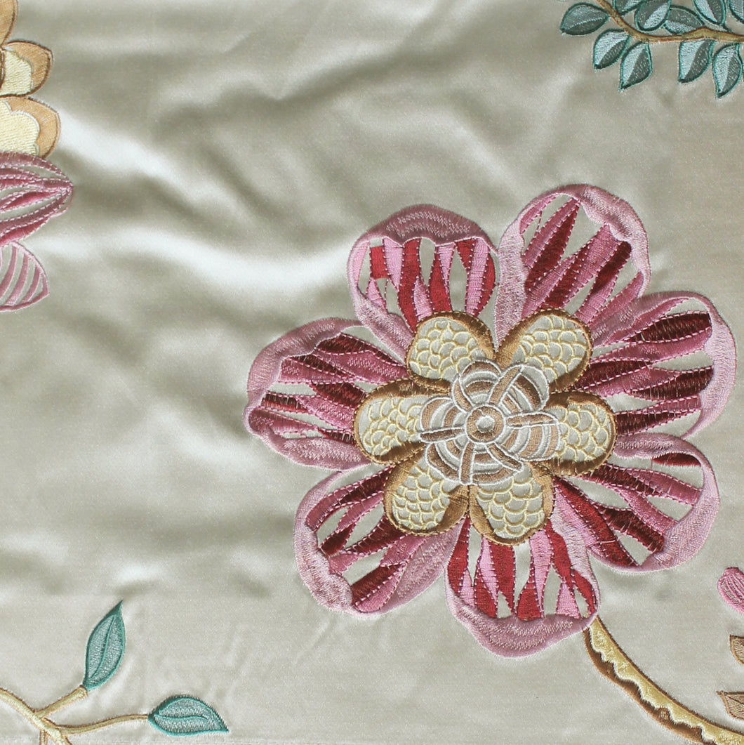 Embroidered Fabric - 7B01