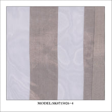 Load image into Gallery viewer, Medium Stripe Metallic Sheer