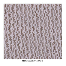 Wavy String Metallic Sheer