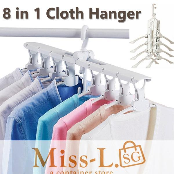 8 IN 1 Clothes Hangers