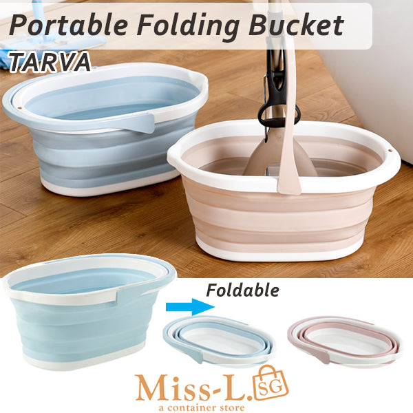 TARVA-Portable Folding  Bucket