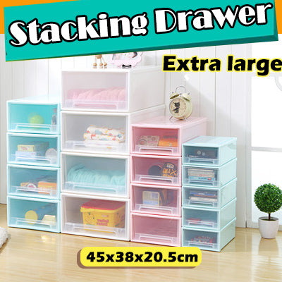 #FITS STACKING DRAWERS-Extra large