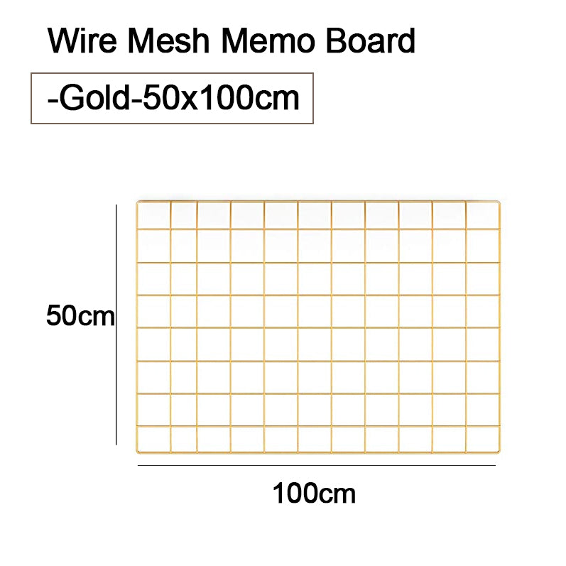 Wire Mesh Memo Board/Wire Mesh Shelf/ Basket/ for Wire Wall Grid