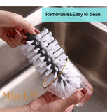 BELA Water Bottle/Cup Cleaning Brush With Suction Base