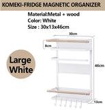JAPAN KOMEKI Fridge Magnetic Organizer