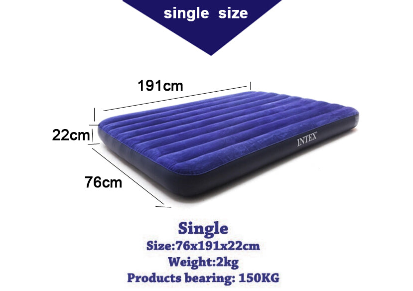Intex Downy Inflatable Air Bed/Mattress/Air Bed/Travel Mattress/tatami mattress