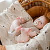 Korango Boys or Girls Navy/White Striped Raincoat