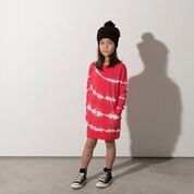 Minti Girls Marble Pocket Crew Dress