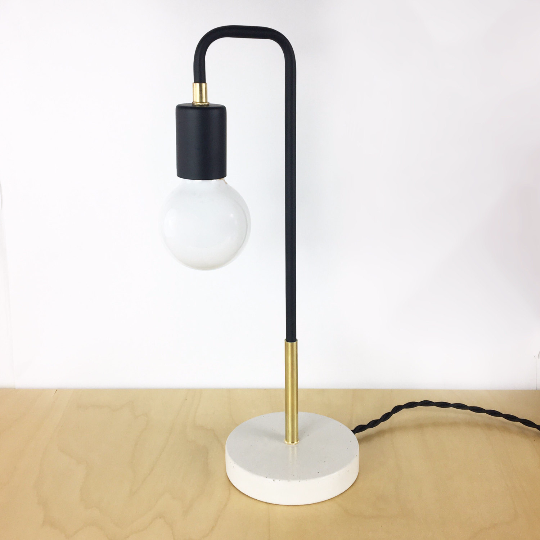 Culver Task Lamp Concrete base - gdomm