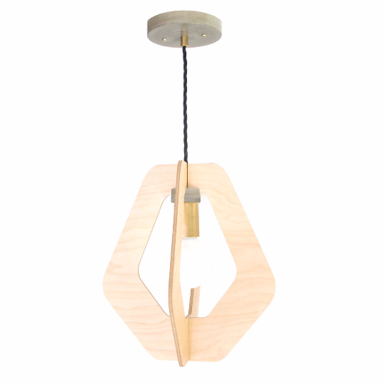 Maple hanging pendant light chandelier - gdomm