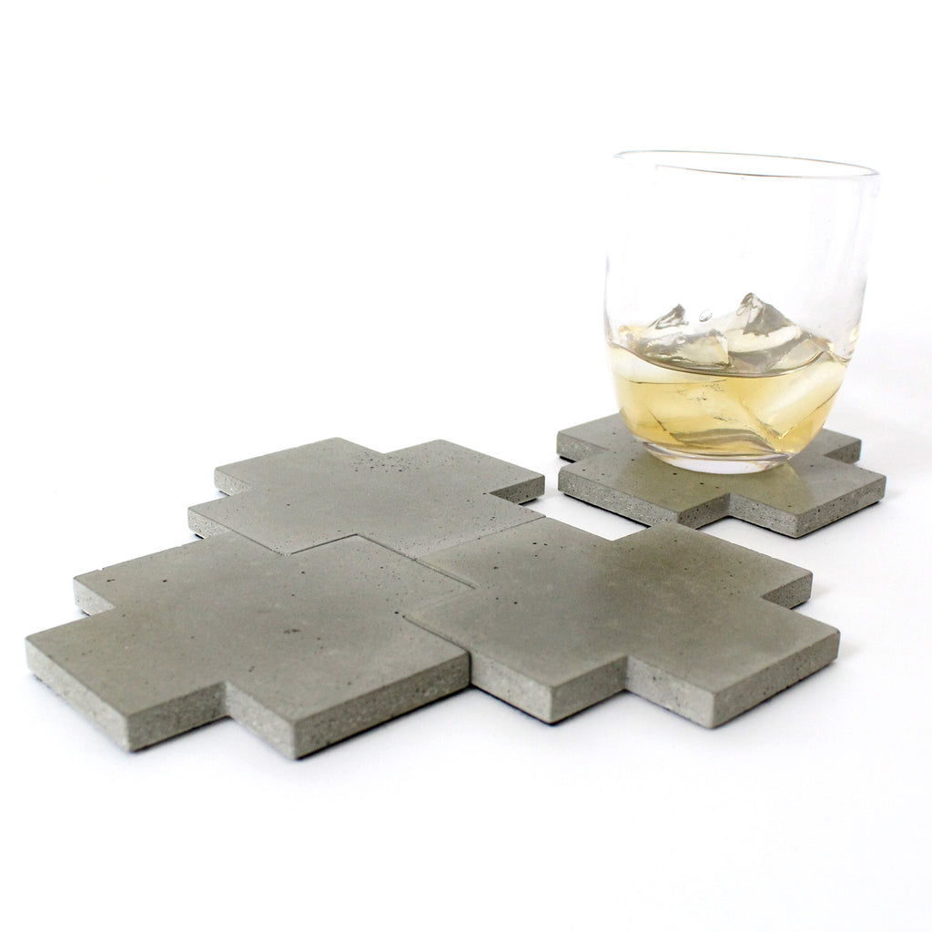 Grey Concrete Coaster - gdomm