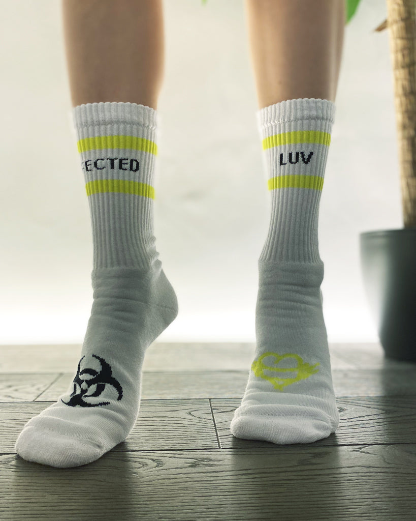 Infected Luv Socks