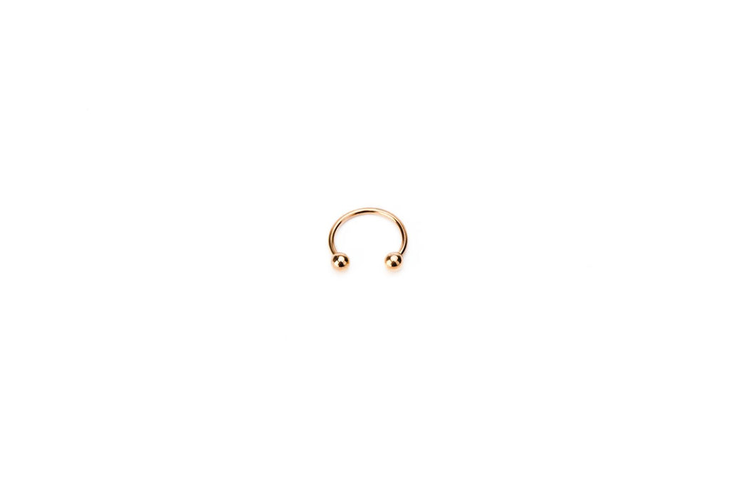 Rosegold Surgical Steel Circular Barbell